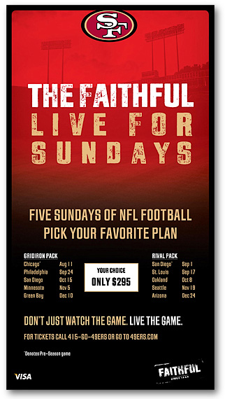 49ers Newspaper Advertising