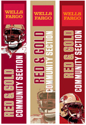 SF Wells Fargo Stadium Banners