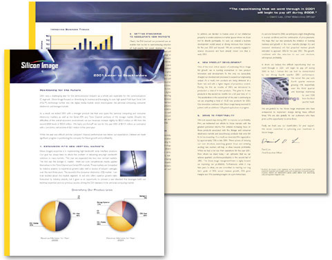 Silicon Image 2001 Annual Report
