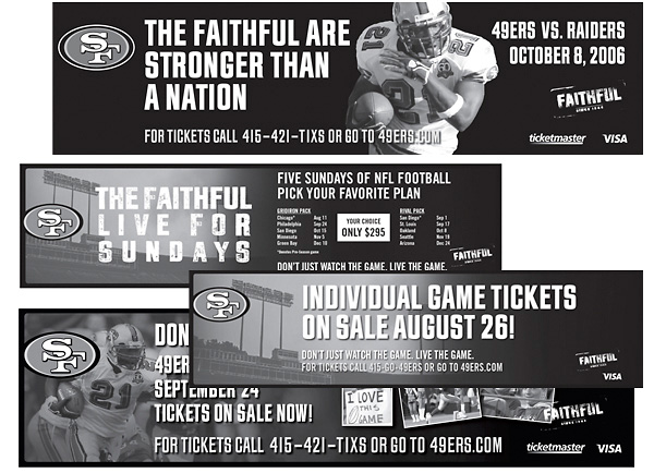 49er Strip Ads