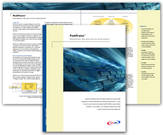 Syncobs Product Brochure Design
